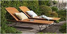 Nouveautés mobilier d'extérieur