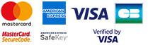 Logos des cartes bancaires acceptées